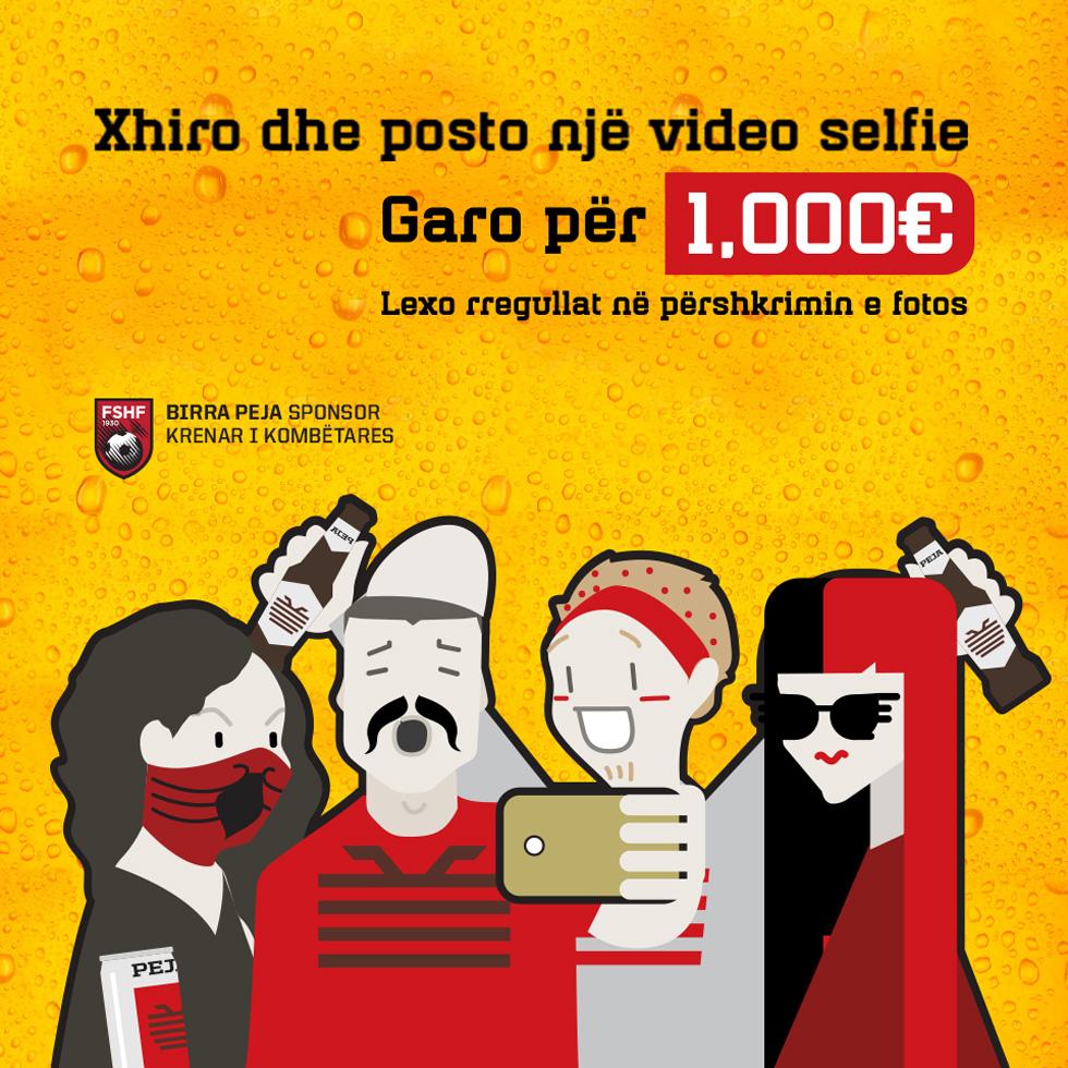 Bira Peja (Selfie)